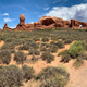 Twin Arches hiking trail in Arches National Park