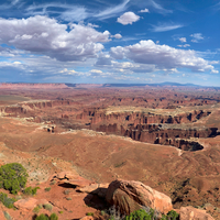 Grand Panoramic viewpoint at Canyonlands