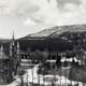 Panorama of Temple Square in 1912 of Salt lake City, Utah