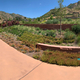 Panoramic  view of Botanical Gardens in Utah