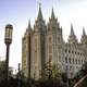 Salt Lake City Temple in Utah