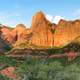 Kolob Canyons in Zion National Park landscape in Utah