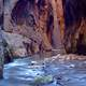 River in the Canyon at Zion National Park, Utah