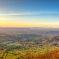 Landscapes at Dusk on the Blue Ridge Parkway