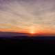 Sunset over the Blue Ridge Parkway in Virginia