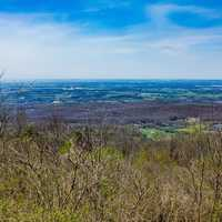 Landscapes of the scenic Overlook in Shenandoah