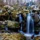 Lots of Cascading Falls at Dark Hollow Falls at Shenandoah