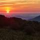 Sunrise over the Hills in Shenandoah National Park