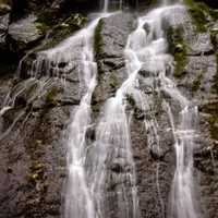 Top of the falls in Shenandoah National Park, Virginia