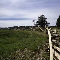 Barricades in front of the British Position at Yorktown, Virginia
