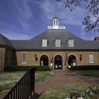Gallery building at Yorktown, Virginia