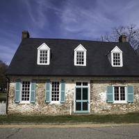 Old Colonial House in Yorktown, Virginia