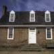 Simple Colonial House in Yorktown, Virginia