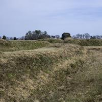 View of the Trenches on the American Side at Yorktown, Virginia