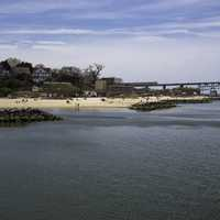 Yorktown Beach by the York River in Virginia