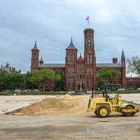 Smithsonian Castle in Washington DC