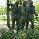 Statue of Soldiers near the Vietnam memorial
