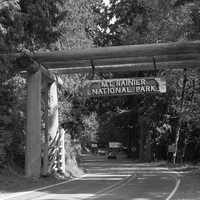 Nisqually entrance of Mount Rainier National Park, Washington
