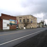 Main intersection in Prescott, Washington