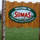 Sign of Sumas, Washington