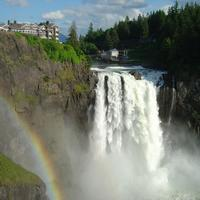 Snoqualmie Falls is featured notably in Twin Peaks in Washington