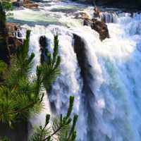 Snoqualmie Falls waterfall landscape