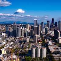 Downtown Cityscape in Seattle, Washington