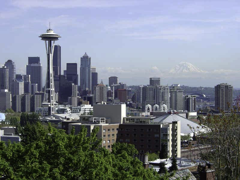 Downtown Seattle From Kerry Park In Washington Image Free Stock Photo Public Domain Photo Cc0 Images