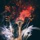 Fireworks at the Space Needle in Seattle, Washington