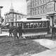 First Streetcar in Seattle in 1884, Washington