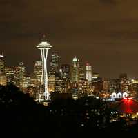 Night Time Skyline in Seattle, Washington
