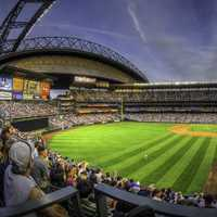 Safeco Field, home of the Mariners in Washington
