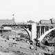 Monroe Street Bridge in 1911 in Spokane, Washington