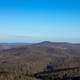 Mountain landscapes from Spruce Knob in West Virginia