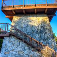 Spruce Knob observation tower in West Virginia