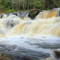 Waterfall at Amnicon Falls State Park, Wisconsin