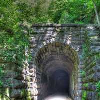 Tunnel Exit on the Badger State Trail, Wisconsin