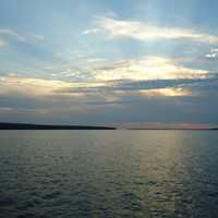 Sunset at Apostle Islands National Lakeshore, Wisconsin