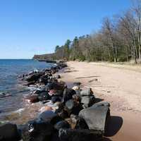 Rocks at Apostle Islands National Lakeshore, Wisconsin