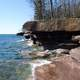 Shoreline at Apostle Islands National Lakeshore, Wisconsin