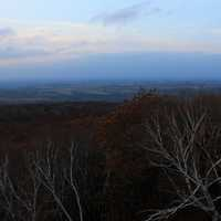 Evening View from West tower in Blue Mound State Park, Wisconsin