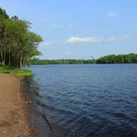 Open Riverway at Brunet Island State Park, Wisconsin