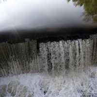 Man Made Waterfalls at Cedarbug