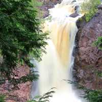 Brownstone Falls at Copper Falls State Park, Wisconsin