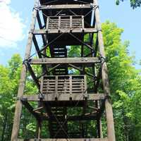 Watchtower at Copper Falls State Park, Wisconsin