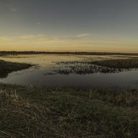 Dusk over the Marsh landscape at Crex Meadows