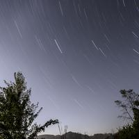 Star Trails at Governor Dodge State Park, Wisconsin