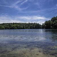 View of the Lake at Governor Dodge State Park, Wisconsin