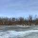 The Icy Backwaters on the Great River Trail, Wisconsin