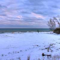 By Lake Michigan at Harrington Beach State Park, Wisconsin